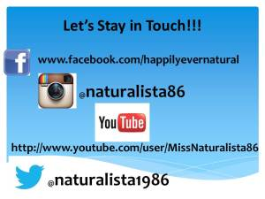 Let's Stay in Touch!!!