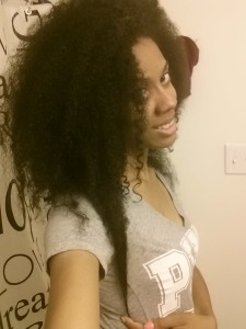 Before my twist out... Freshly washed hair :)