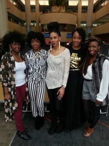 Some of my blogger boos Parisade, Meechy, and Donedo and Nicole :)